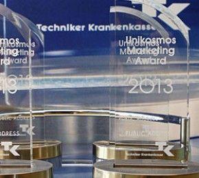 Unikosmos Marketing Award - Zum ersten Mal in der Geschichte des Unikosmos Marketing Awards vergab die Jury den Preis an alle vier Finalisten.
