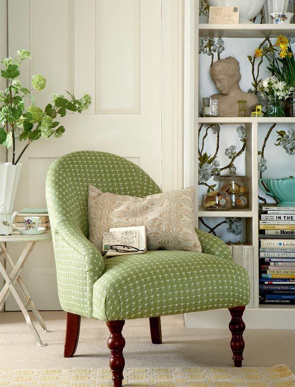 refrescantes rincones veraniegos a27 erbsen cottage pinterest m bel sessel und lesesessel. Black Bedroom Furniture Sets. Home Design Ideas