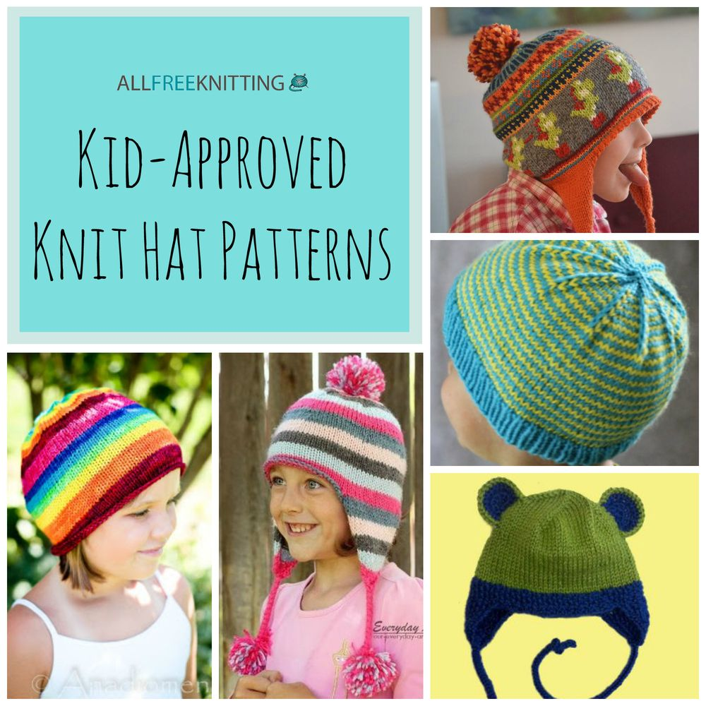 sale retailer c64dc 5f515 26 kid approved knit hat patterns ... fdaceb23b51