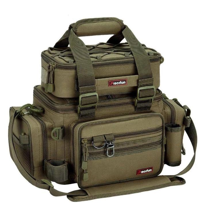 Large Capacity Fishing Bag Brag Fishing And 4x4 Fishing Tackle Bags Fishing Tackle Box Fish In A Bag