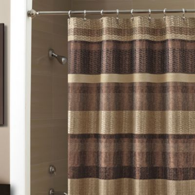 Croscill Reg Portland 70 Inch X 72 Inch Shower Curtain In Bronze