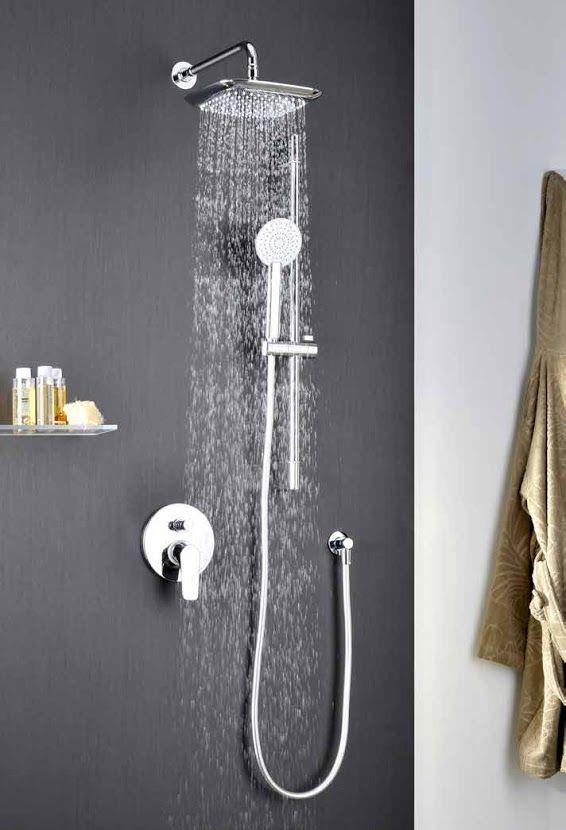 Douche encastrée mitigeur manuel SPORT PLUS de ALPI Salle de bain - hauteur robinet douche italienne
