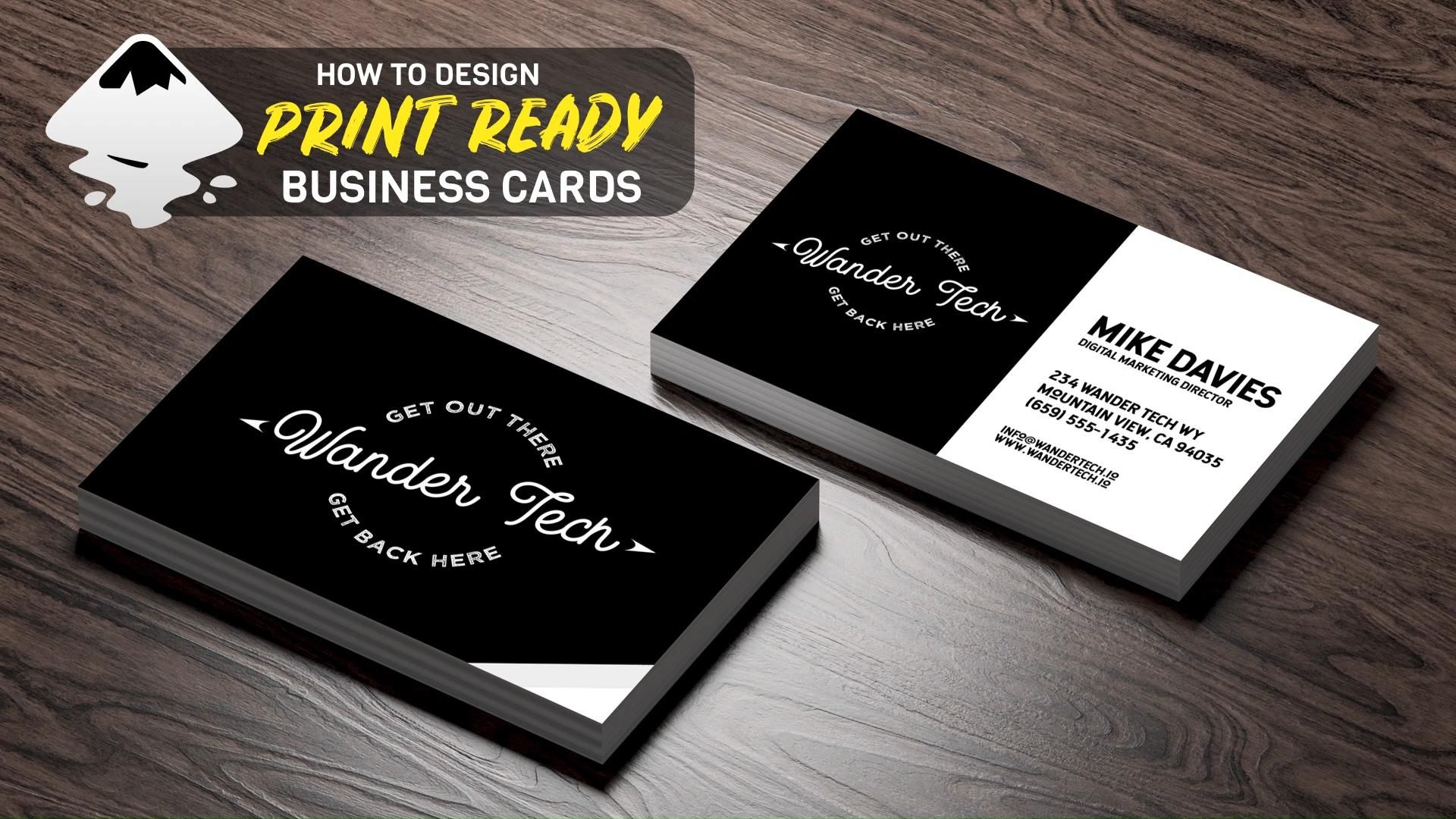 Create A Business Card Template In Inkscape Business Card Template Business Card Tutorial Printing Business Cards