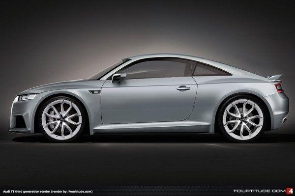 Audi TT MQB Render by Fourtitude
