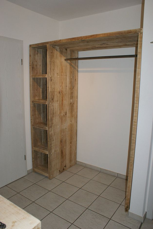 bauholz garderobe creative closets mudroom and diy furniture. Black Bedroom Furniture Sets. Home Design Ideas