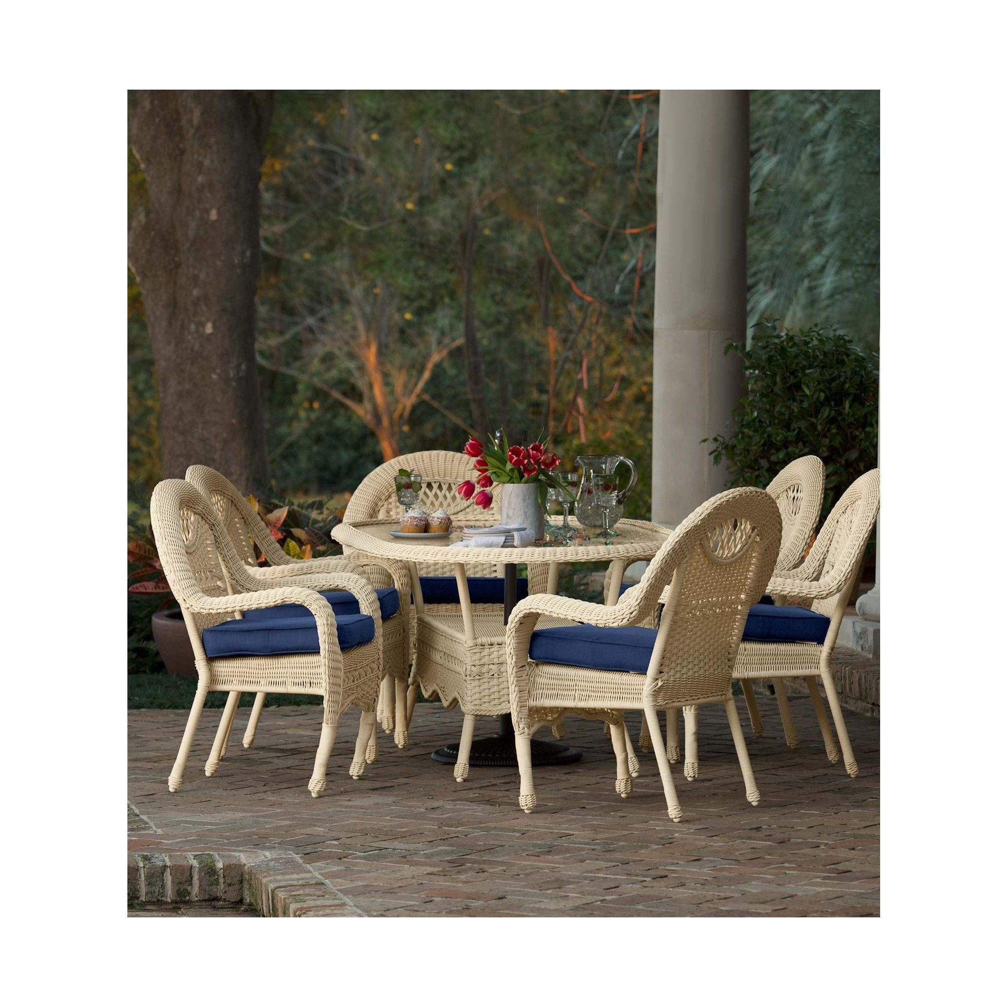 Pleasing Prospect Hill Oval Dining Table And 6 Chairs Set Cloud Machost Co Dining Chair Design Ideas Machostcouk