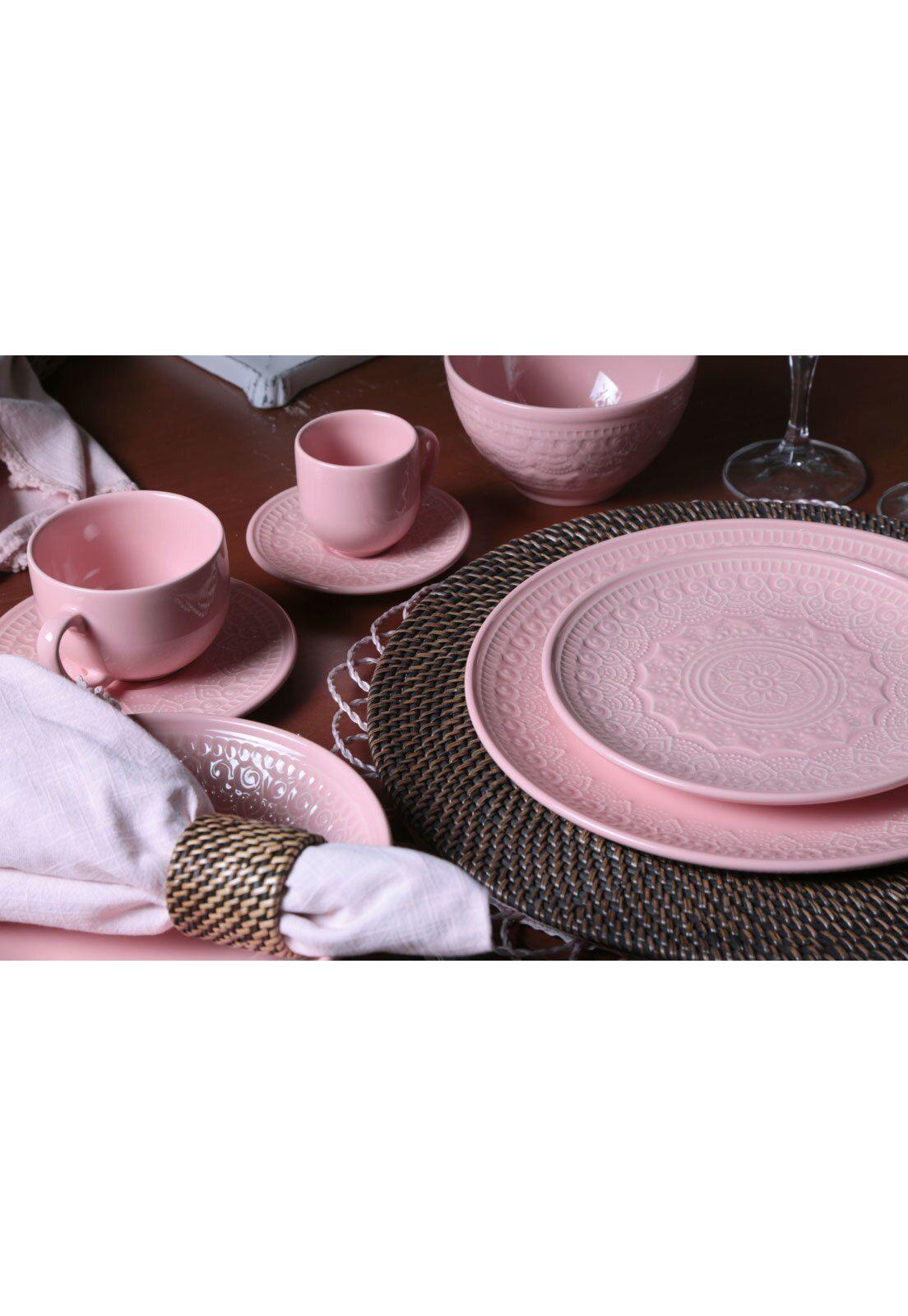 Jogo De Xicaras De Cafe 12 Pcs Agra Rosa Porto Brasil Jogo De Pratos Porto Brasil Jogo De Jantar Porcelana