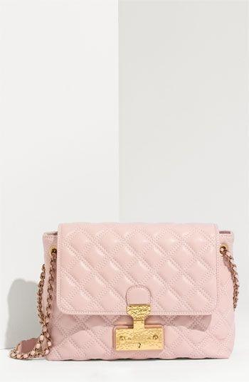 Marc Jacobs 'Baroque - Large' Lambskin Leather Shoulder Bag