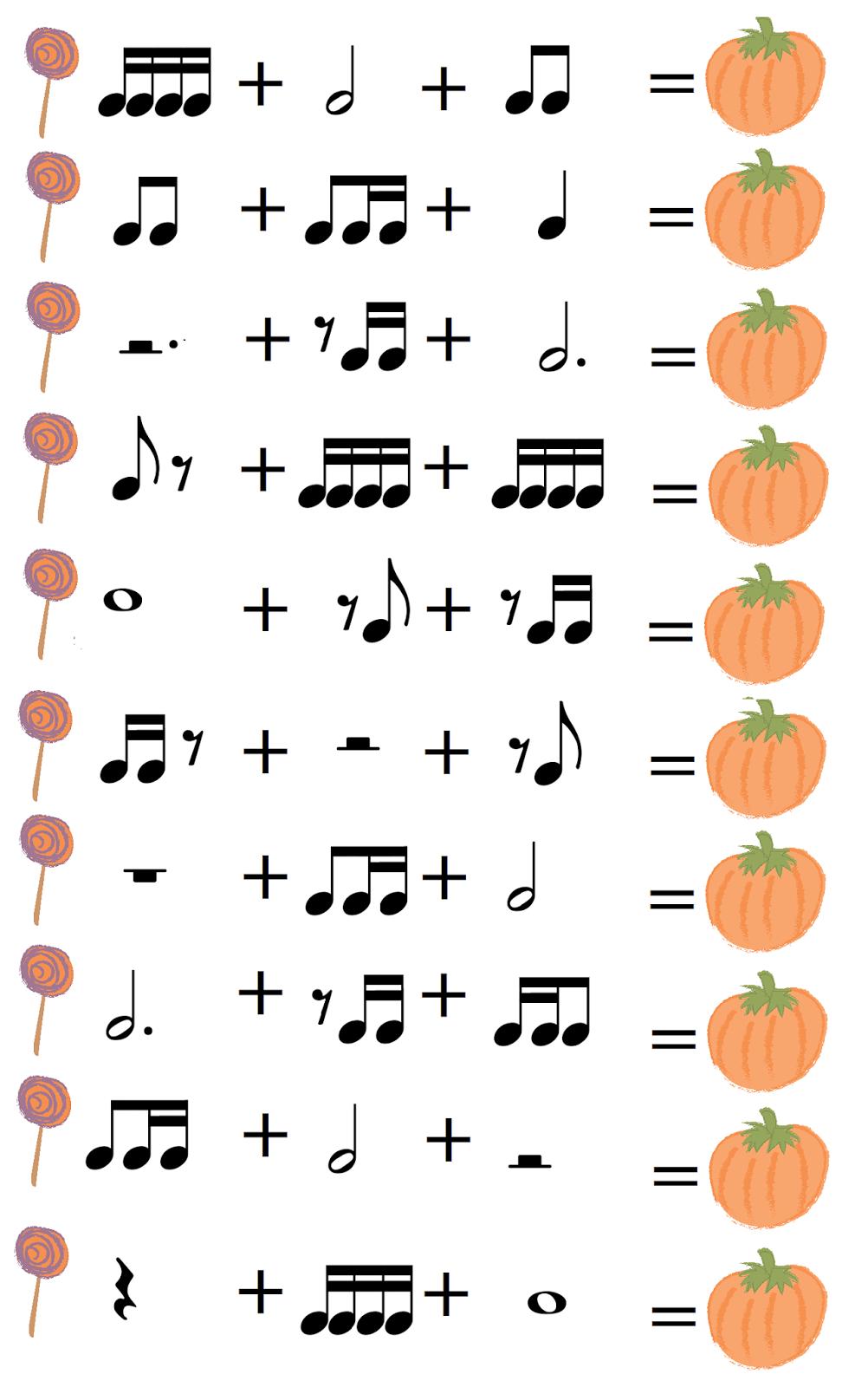 Ejercicio de lenguaje musical Concepto didcticovalores de las