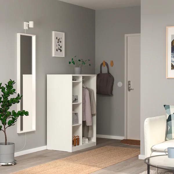 SYVDE Open wardrobe, white IKEA en 2020   Armario abierto