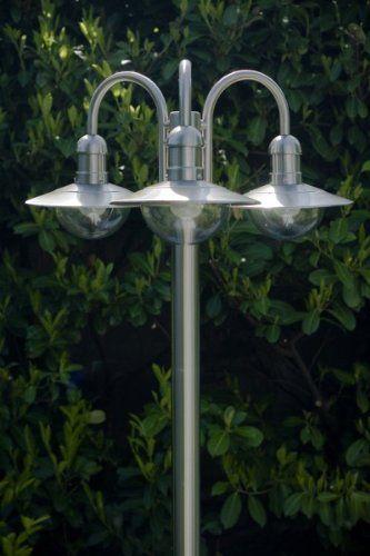 High Grade Steel Garden Post Light