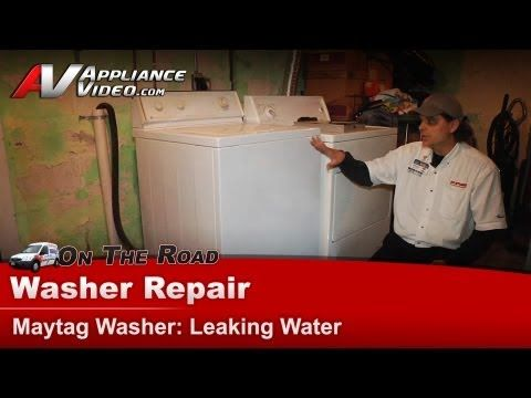 Videos How A Diy Youtube Tutorial Video Saved Me 700 Answering A Real Consumer Need Repairing A Leaking Washer Details Washer Repair Repair Maytag Washers