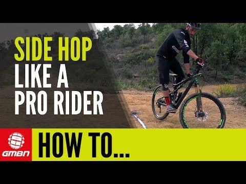 Video How To Side Hop Essential Trials Skills For Mountain Biking Singletracks Mountain Bike News Mountain Bike Training Bike Training Mountain Biking