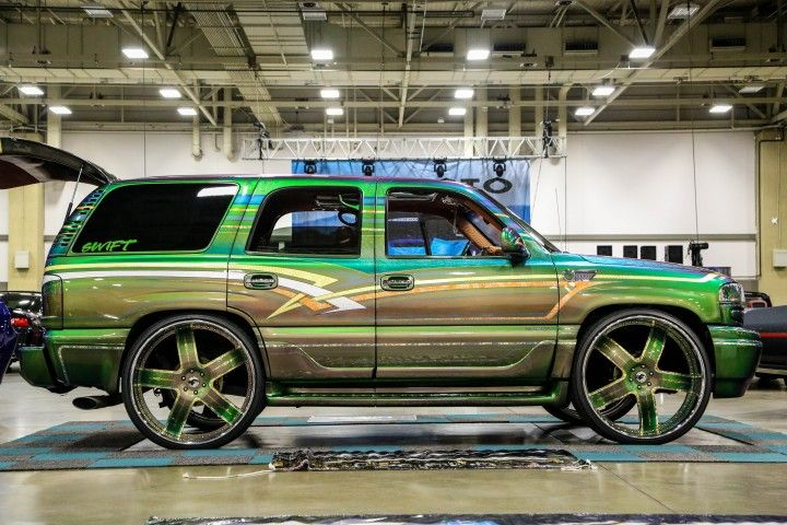 Custom Chevy Tahoe On Forgiato Wheel Swift Car Club Forgiato