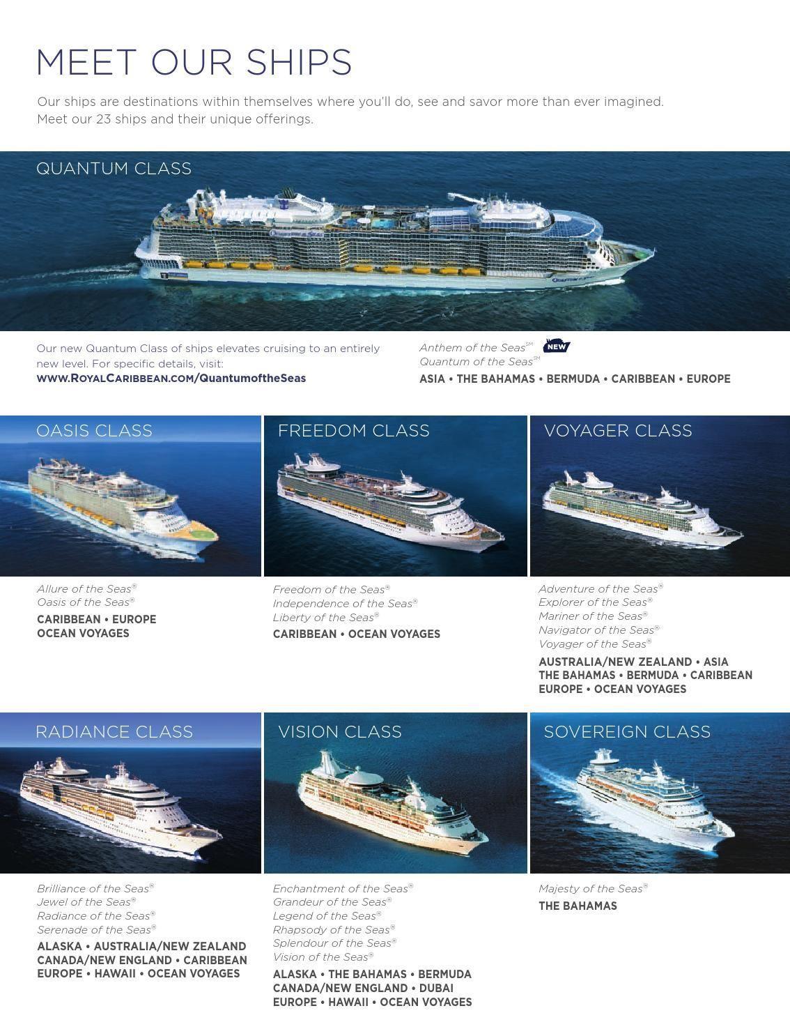 Royal Caribbean 2015 2016 Cruises Royal Caribbean Cruise Lines Royal Caribbean Ships Royal Caribbean Cruise