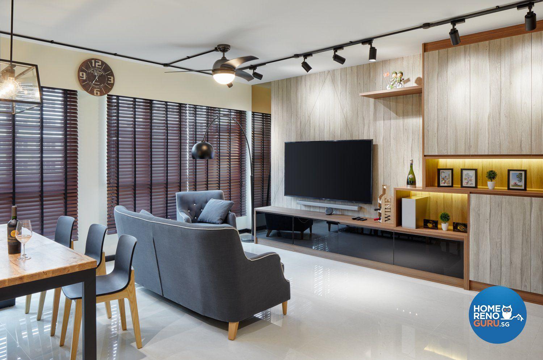 Design Gallery Homerenoguru Tv Feature Wall 5 Room Living Room Scandinavian Interior Design