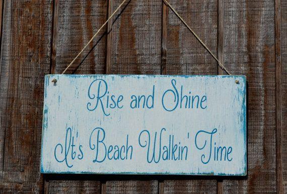 Beach Decor, Beach Sign, Beach Wood Sign, Coastal Decor, Nautical, Beach Theme…