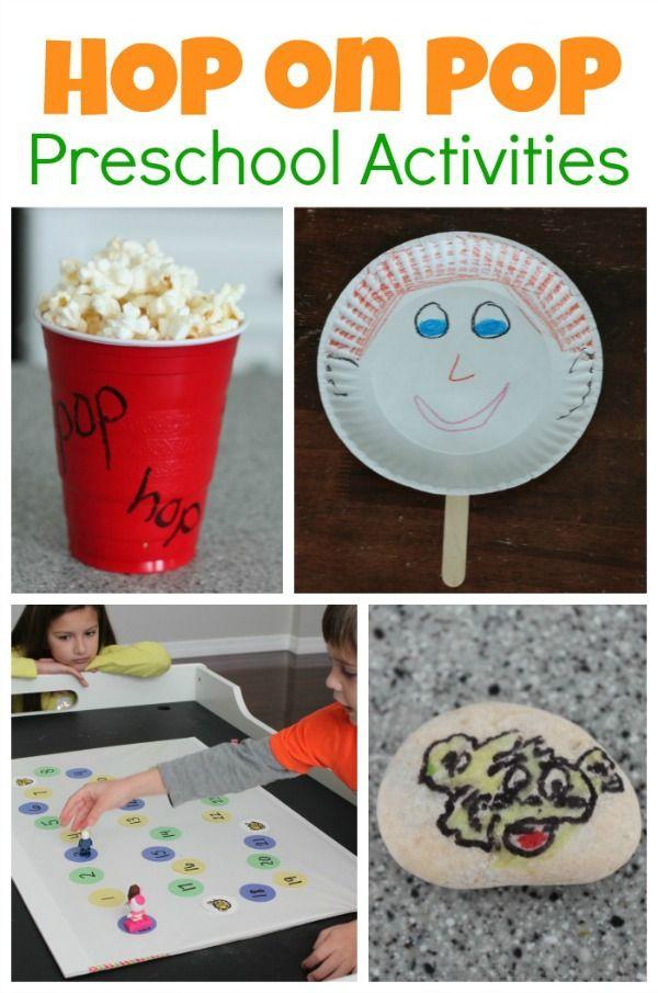 Dr Seuss Hop On Pop Preschool Activities Dr Seuss Activities