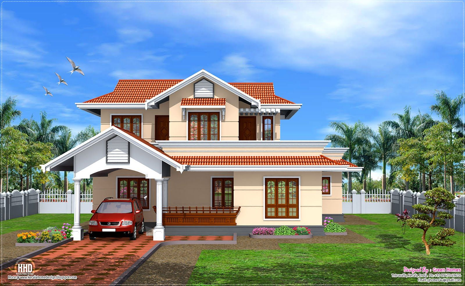 Architecture Design Kerala Model 5399individual house design-news | house elevation indian