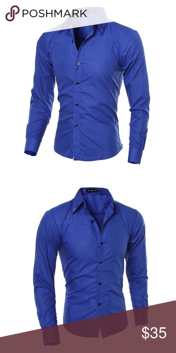 35+ Royal blue shirt mens ideas ideas