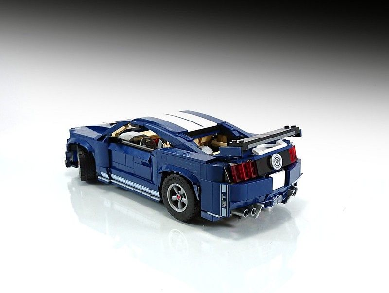 Ford Mustang Shelby Gt500 10265 Model B Moc In 2020