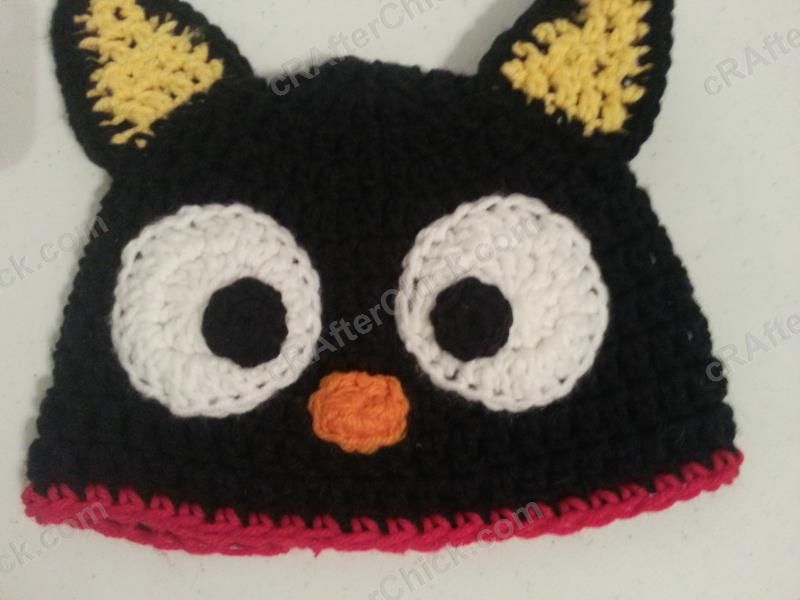 Chococat The Black Cat Character Hat Crochet Pattern Free Crochet