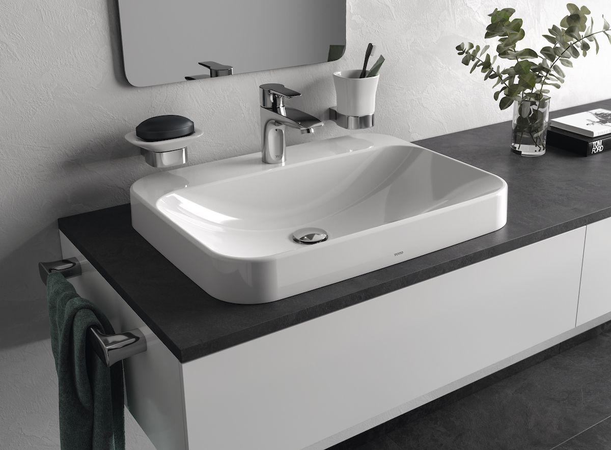 TOTO Vessel Lavatories create a contemporary bathroom design ...