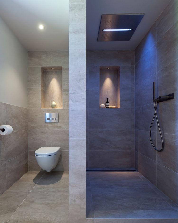 Nutzliche Bad Nische Fur Ihren Nassraum Ideen Und Tipps Fur Designs Duschnische Badezimmerideen Dusche Beleuchtung