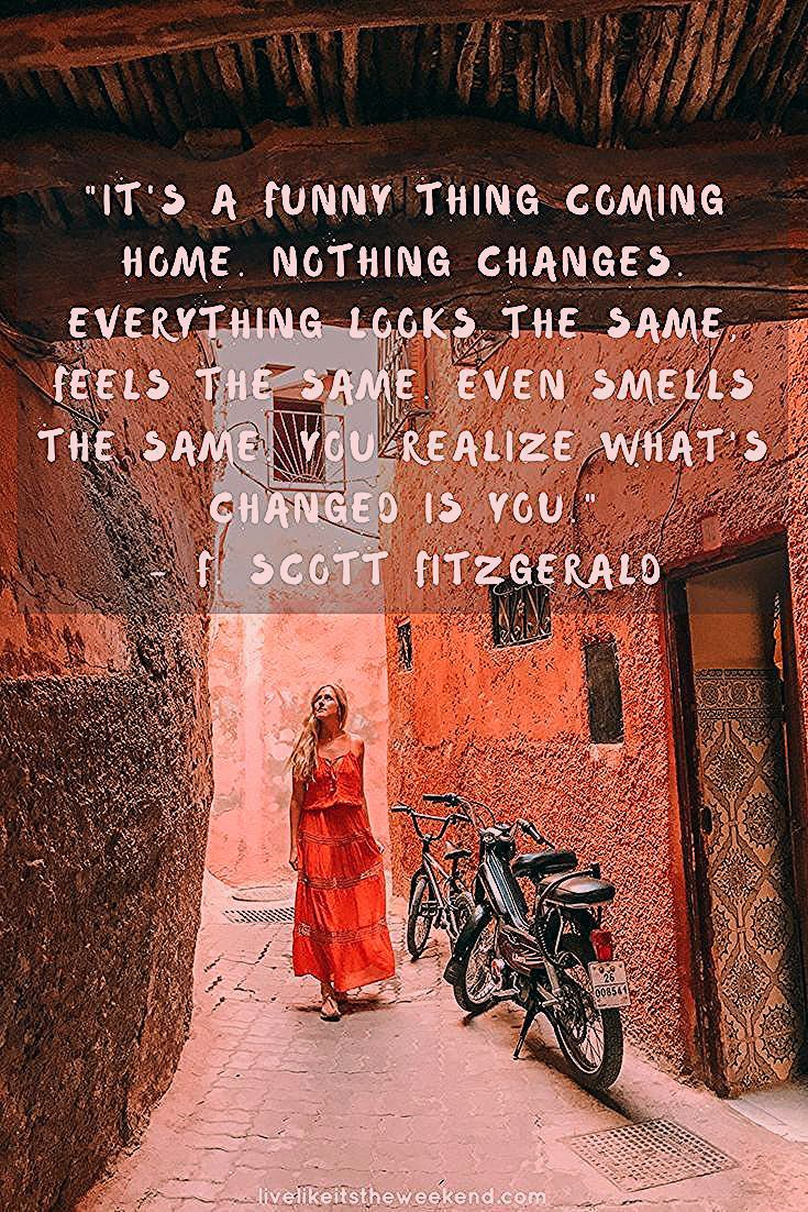 Photo of 30 Inspiring Travel Quotes That Will Make You Want to Get Up and Go – Live Like It's the Weekend