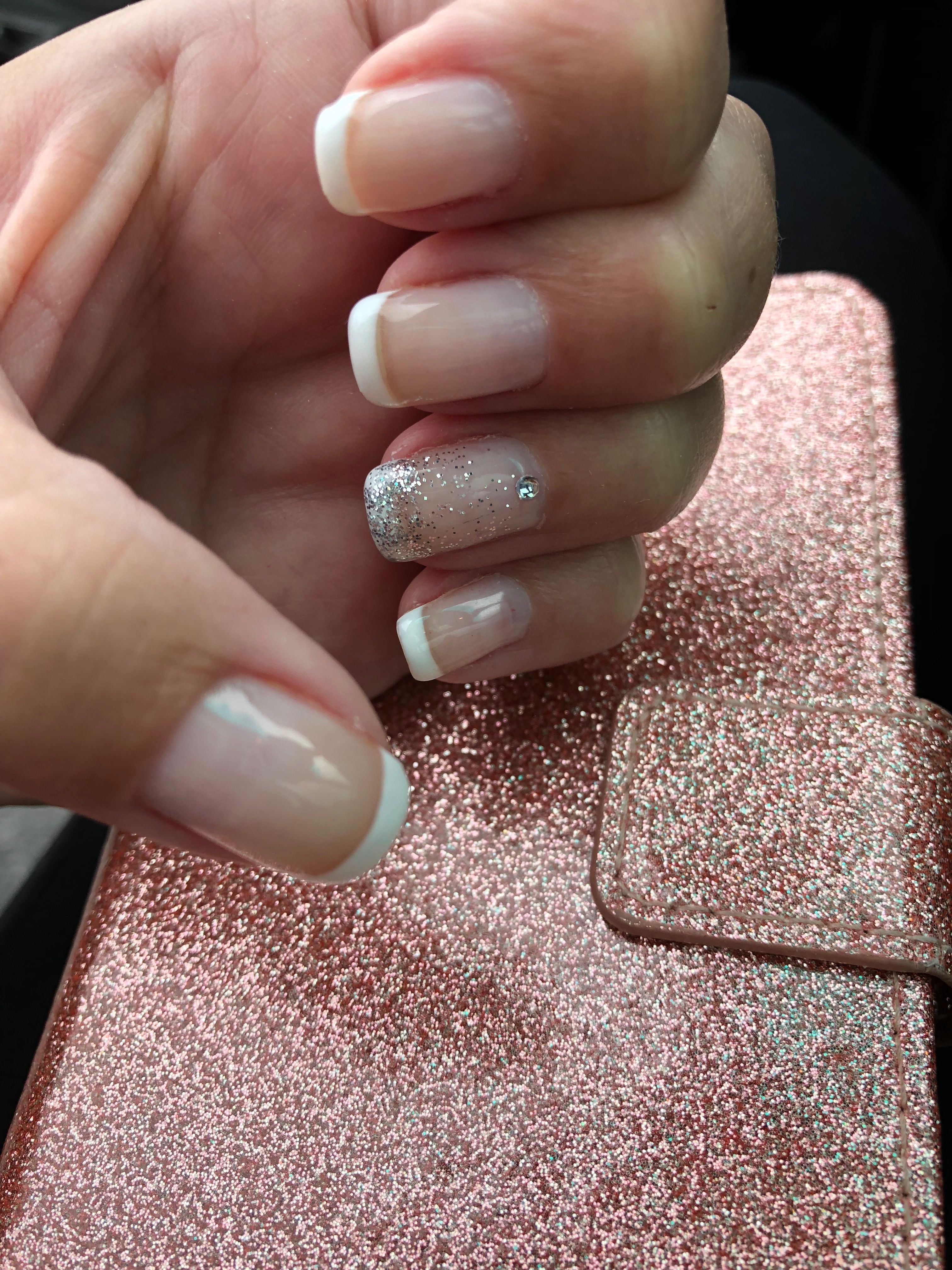 Heavenly Nails by Helen | Nails ideas | Heavenly nails, French nails