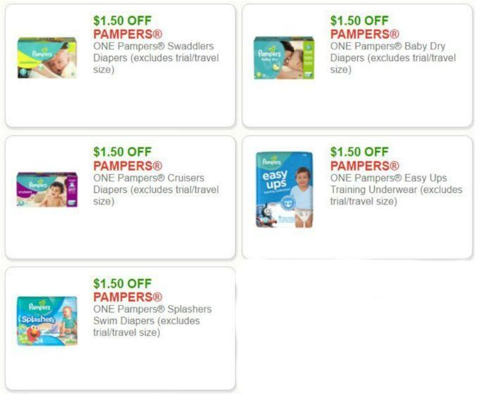 The Best Printable Pampers Coupons For 2017 Updated Daily Save