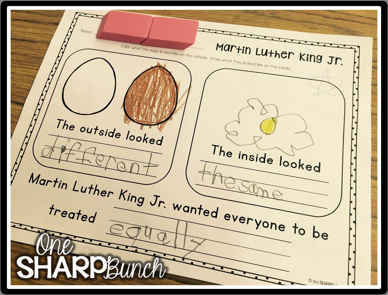 Martin Luther King Jr Freebie