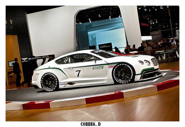 Bentley Continental Gt3 Concept 2012 Nice Bentley Photo Found On
