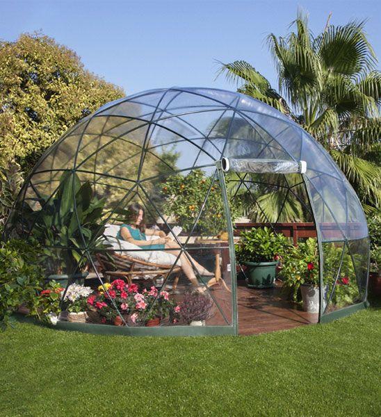 Garden igloo cool products pinterest garten garten - Eco wintergarten ...