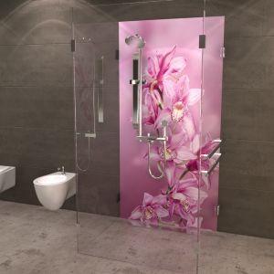 duschr ckwand orchidee duschr ckw nde von pinterest einrichten und wohnen und wohnen. Black Bedroom Furniture Sets. Home Design Ideas