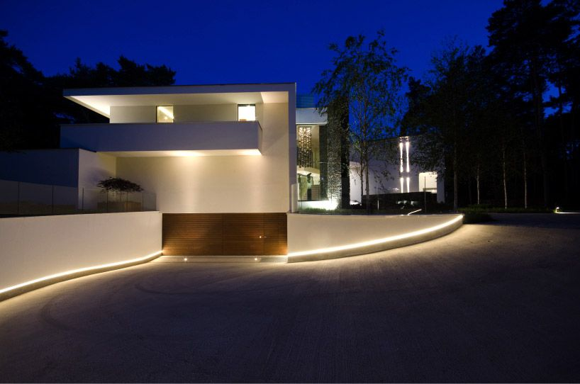 Dpl europe villa noord brabant lights architecture