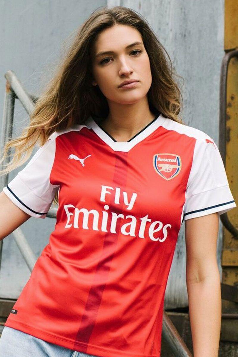 new product 81bb9 b84fc PUMA Arsenal Women's Home Jersey 16/17 | Arsenal | Arsenal ...