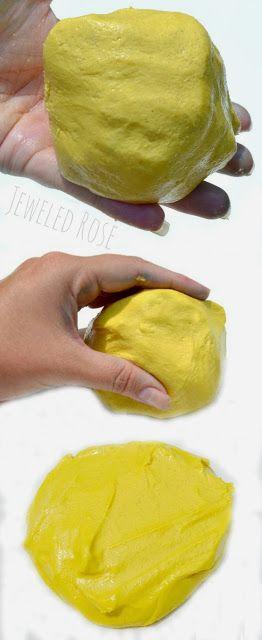 Quicksand Play Dough Recipe ~ Growing A Jeweled Rose