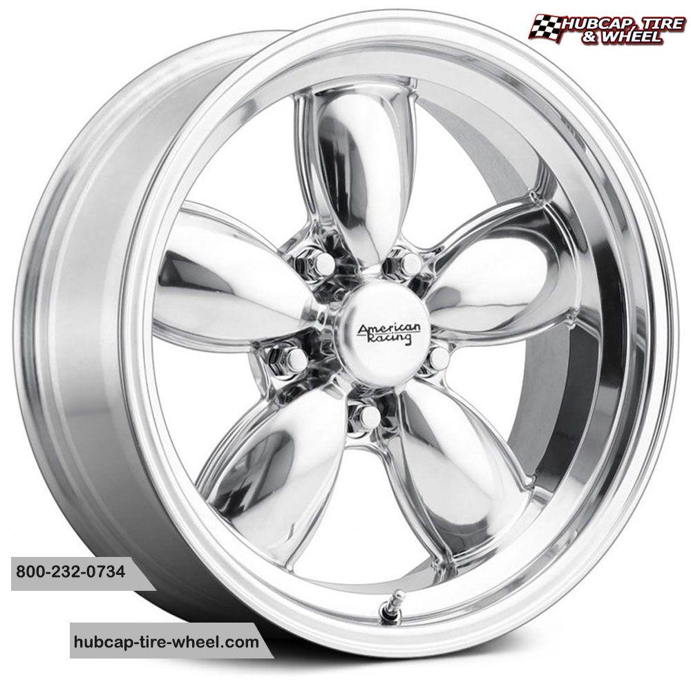American Racing Vintage Vn504 Polished American Racing Wheels American Racing Custom Wheels And Tires