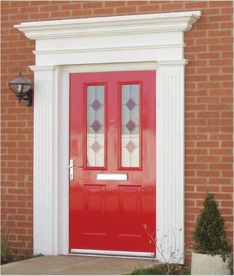 Salisbury Door Surround & Salisbury Door Surround | New house | Pinterest | Doors Canopy ...