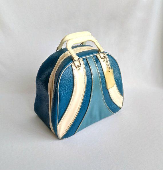 Vintage Bowling Ball Bag Brunswick Retro Carrying Case