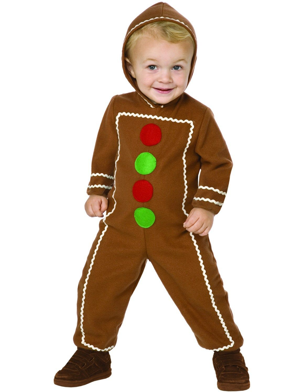 03de6db39 Kids Gingerbread Man Costume