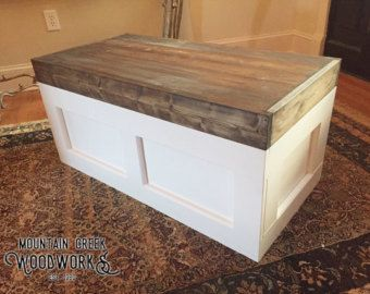 Superior Items Similar To Treasure Chest / Toy Box / Hope Chest/ Coffee Table From  Reclaimed