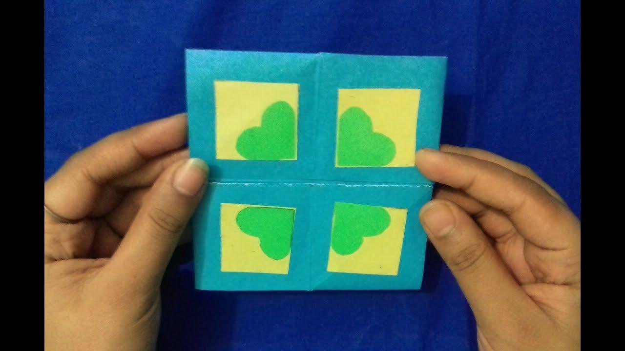 Diy Infinity Never Ending Card Never Love End Diy Easy Origami Origami Easy Cards Never Ending Card