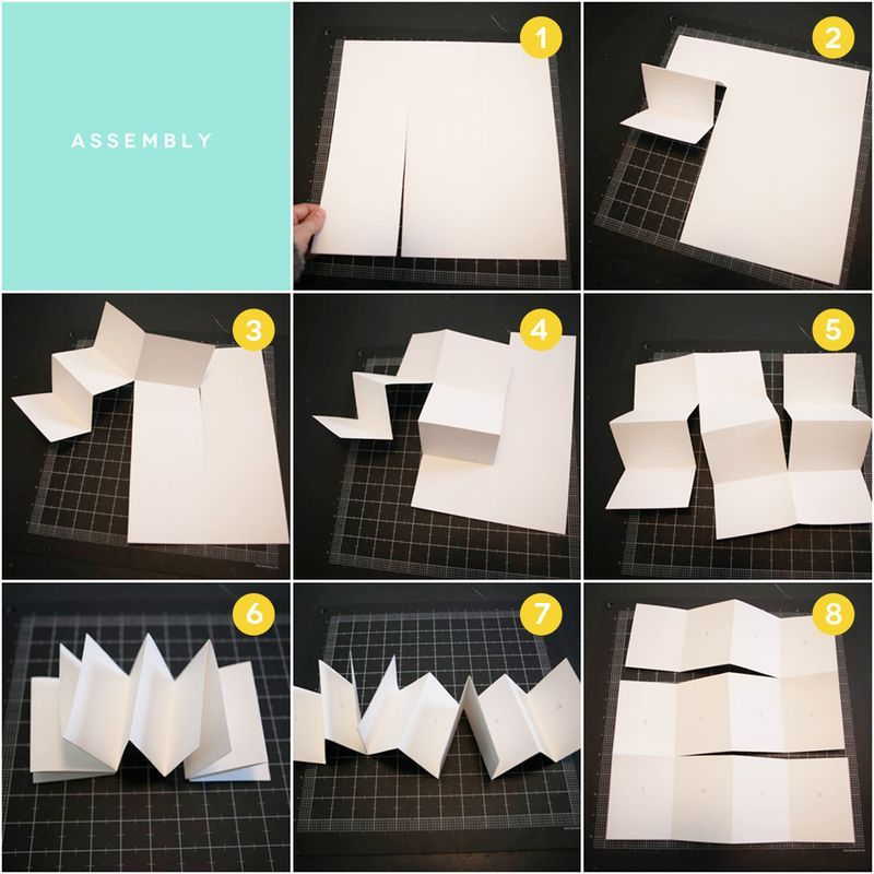 Accordion Book Tutorial Pinterest Accordion Book Tutorials And Easy