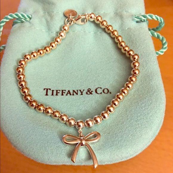 Tiffany Bow bead bracelet in sterling silver, medium Tiffany & Co.