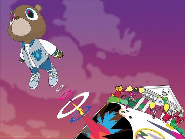 Found On Google From Wallpapersafari Com Kanye West Album Cover Kanye West Bear Graduation Album