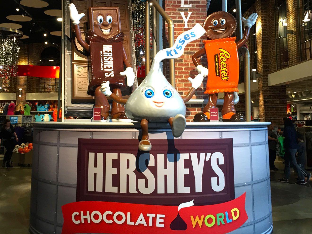Hershey's Chocolate World in Hershey, PA