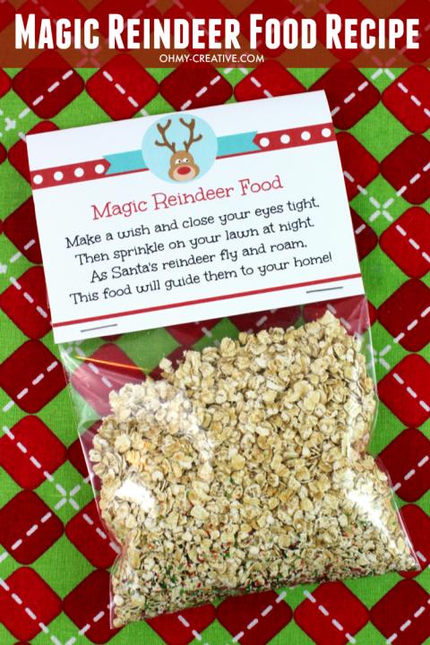 Christmas Eve Food In Spain: Magic Reindeer Food Recipe And Printable