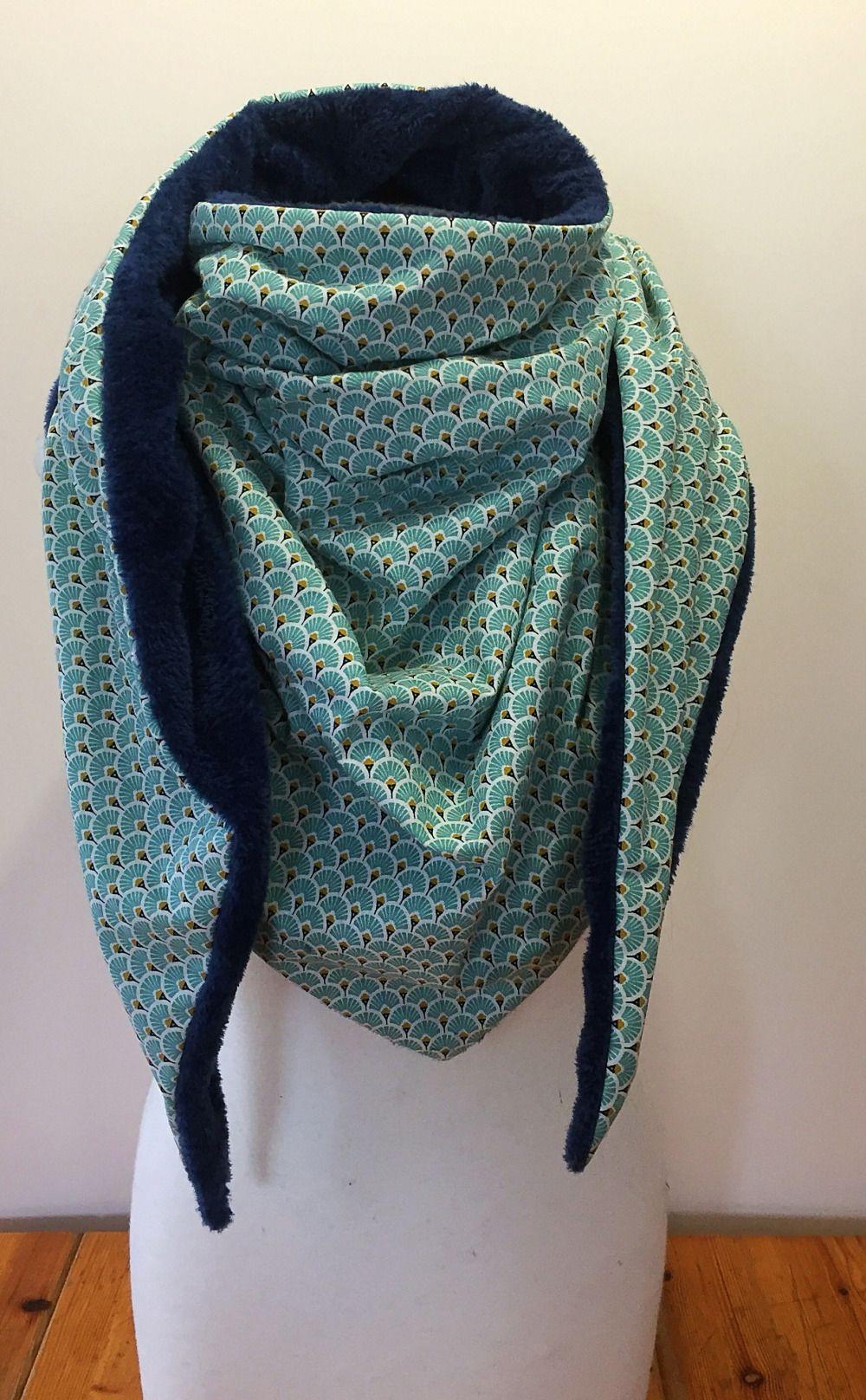 d1a612f07ef Maxi chèche foulard polaire châle